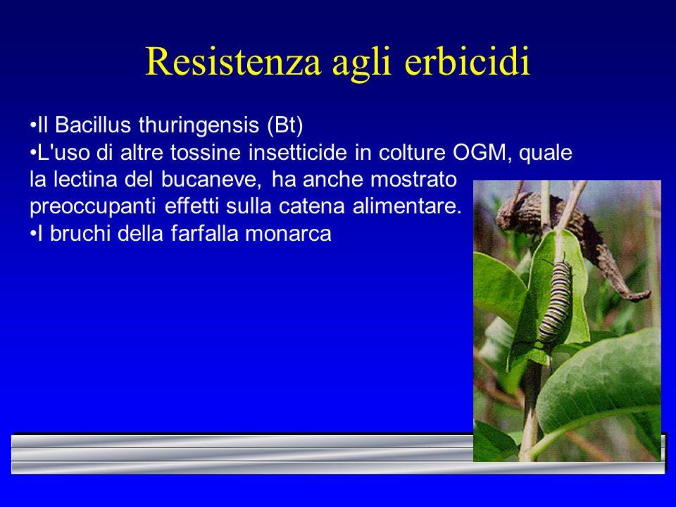 Resistenza agli erbicidi