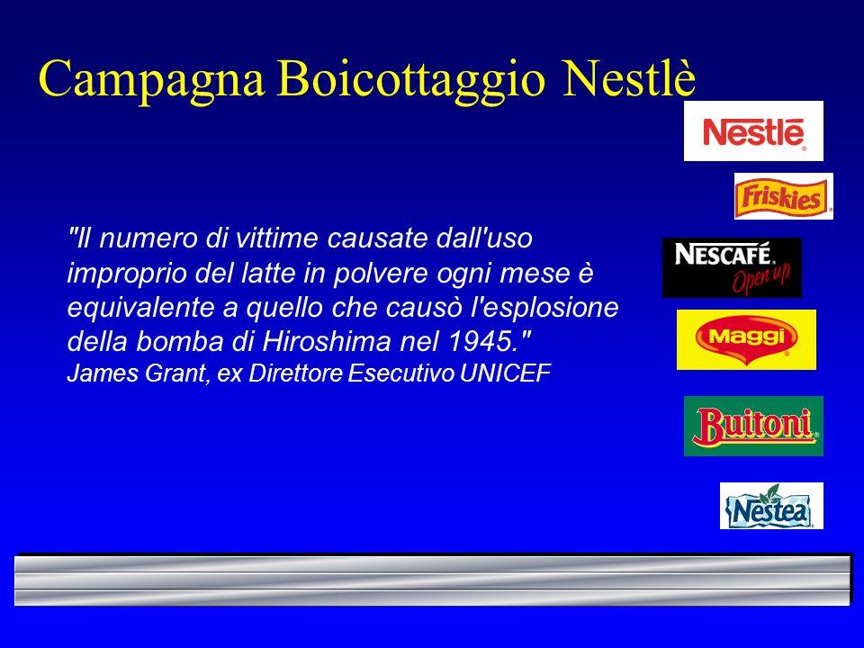Campagna Boicottaggio Nestlè