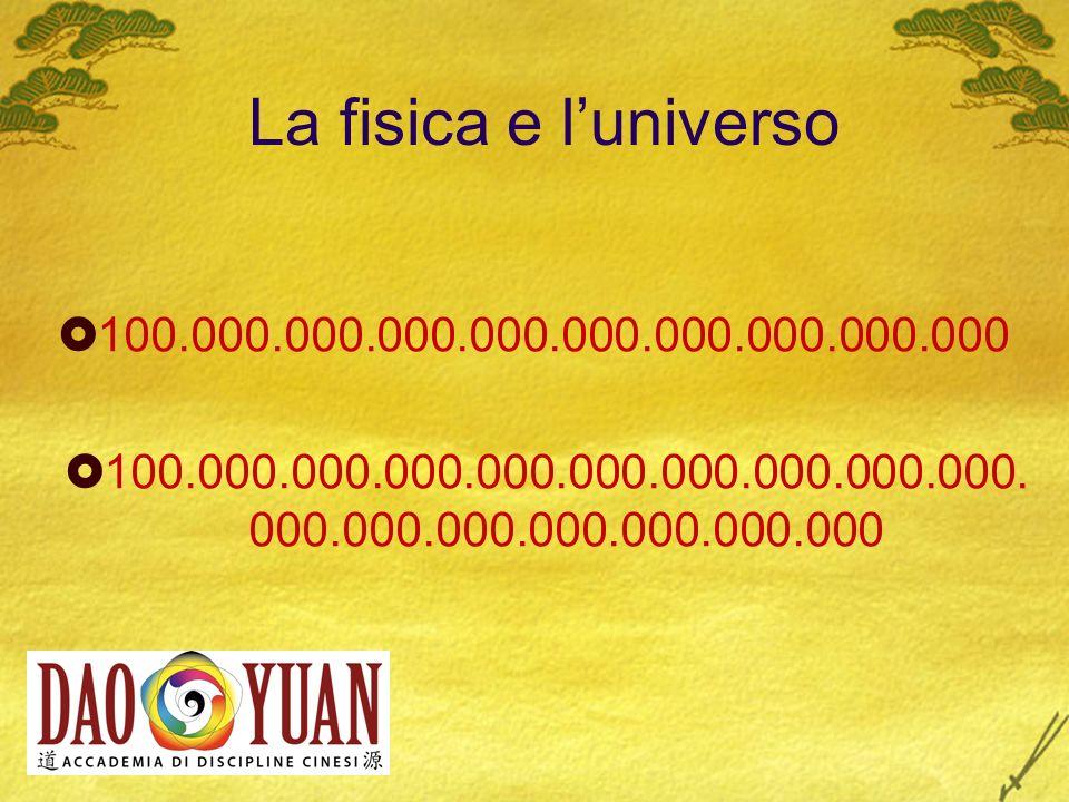 La fisica e l'universo 100.000.000.000.000.000.000.000.000.000. 100.000.000.000.000.000.000.000.000.000.000.000.000.000.000.000.000.