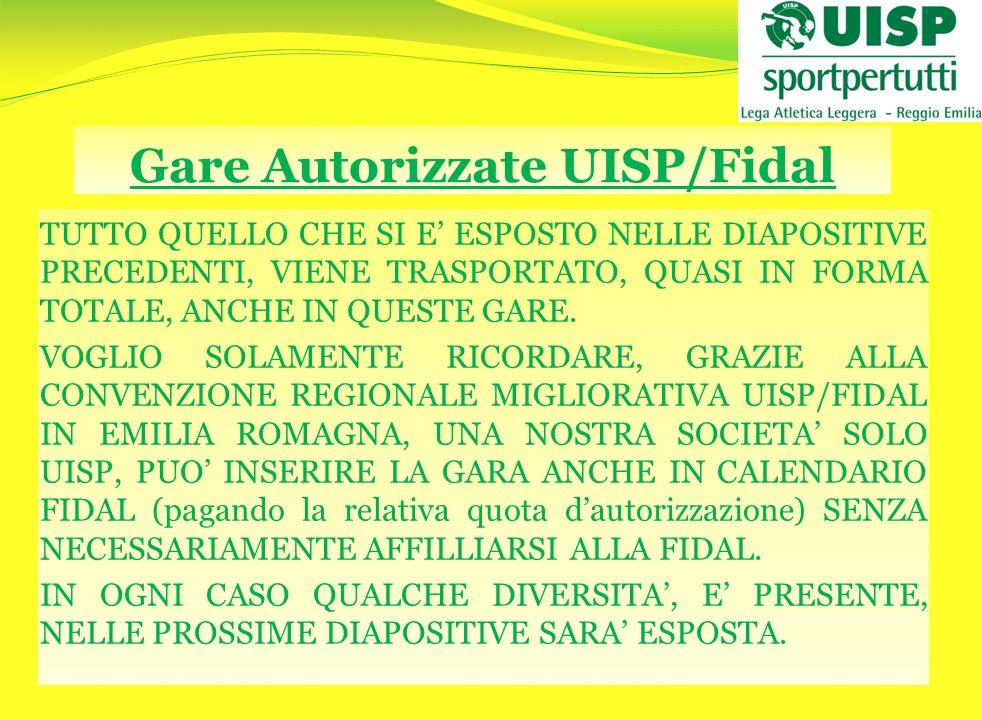 Gare Autorizzate UISP/Fidal