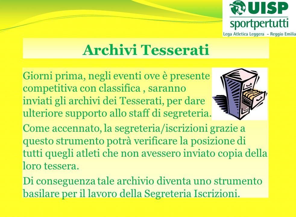 Archivi Tesserati