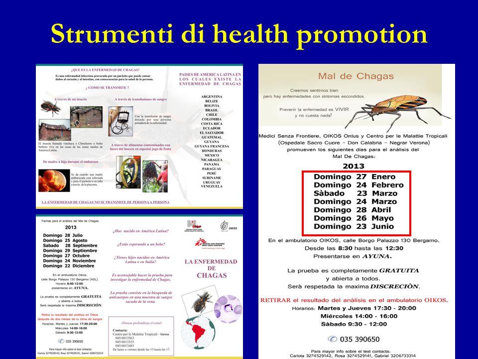 Strumenti di health promotion