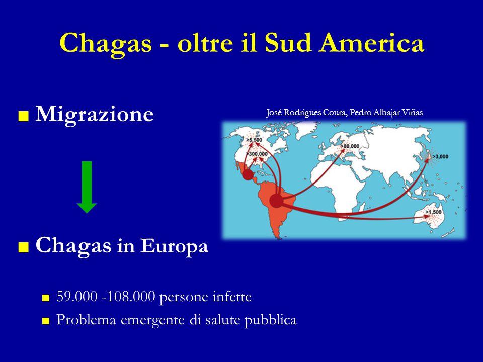 Chagas - oltre il Sud America