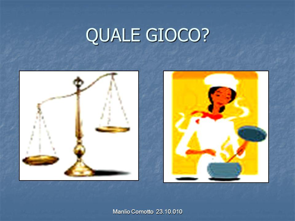 QUALE GIOCO Manlio Comotto 23.10.010