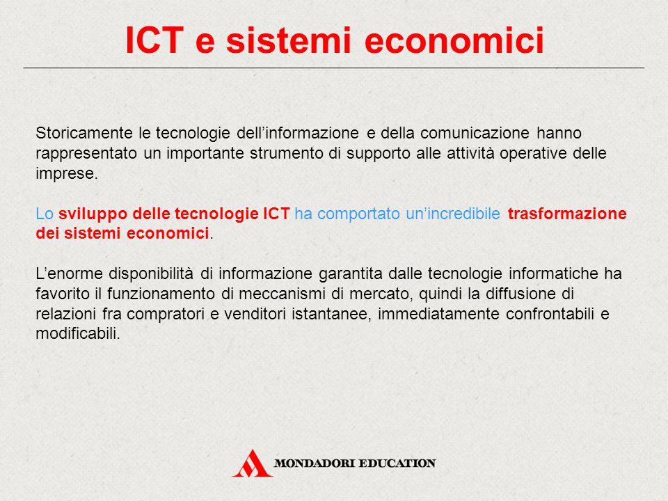 ICT e sistemi economici