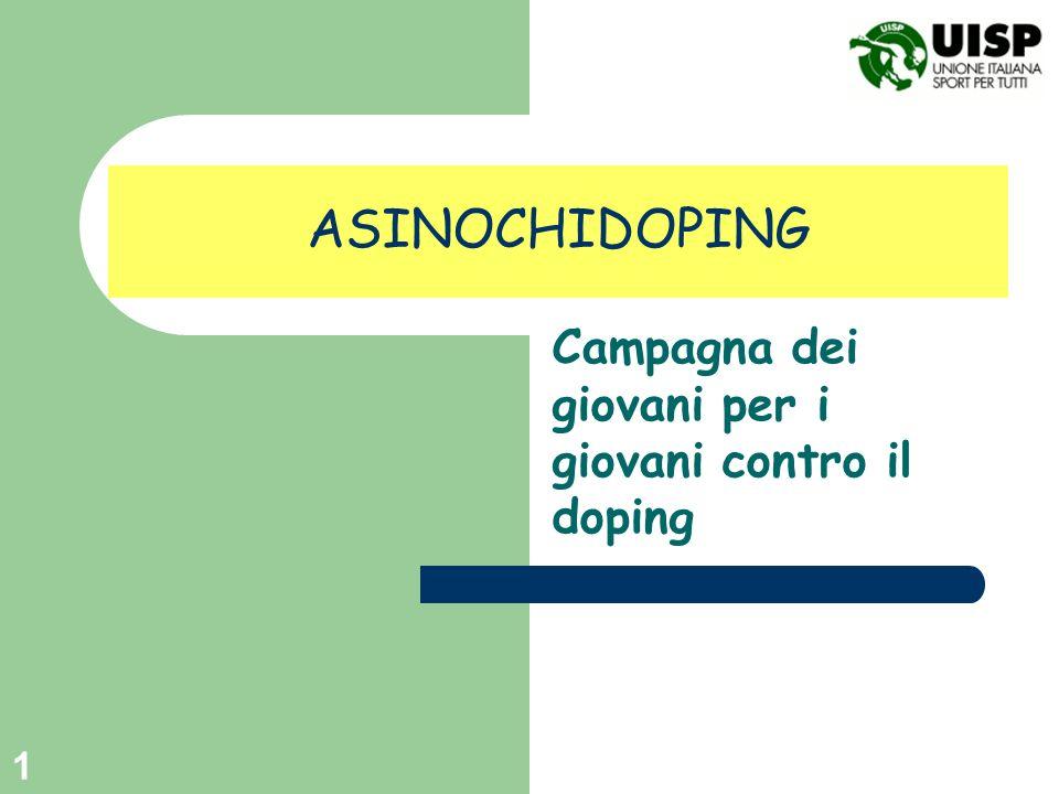 Campagna dei giovani per i giovani contro il doping