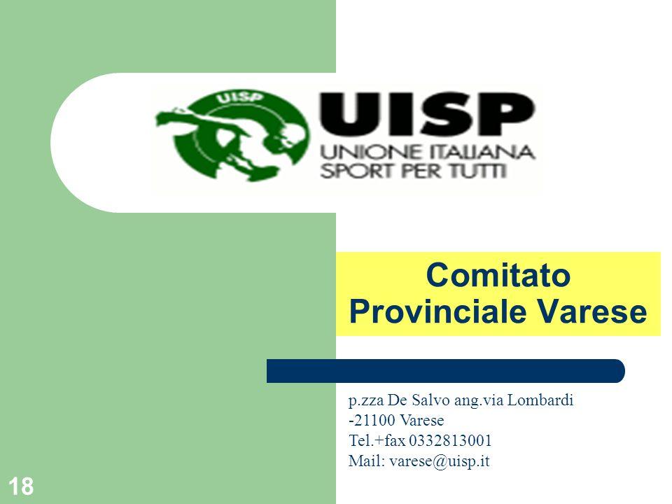 Comitato Provinciale Varese