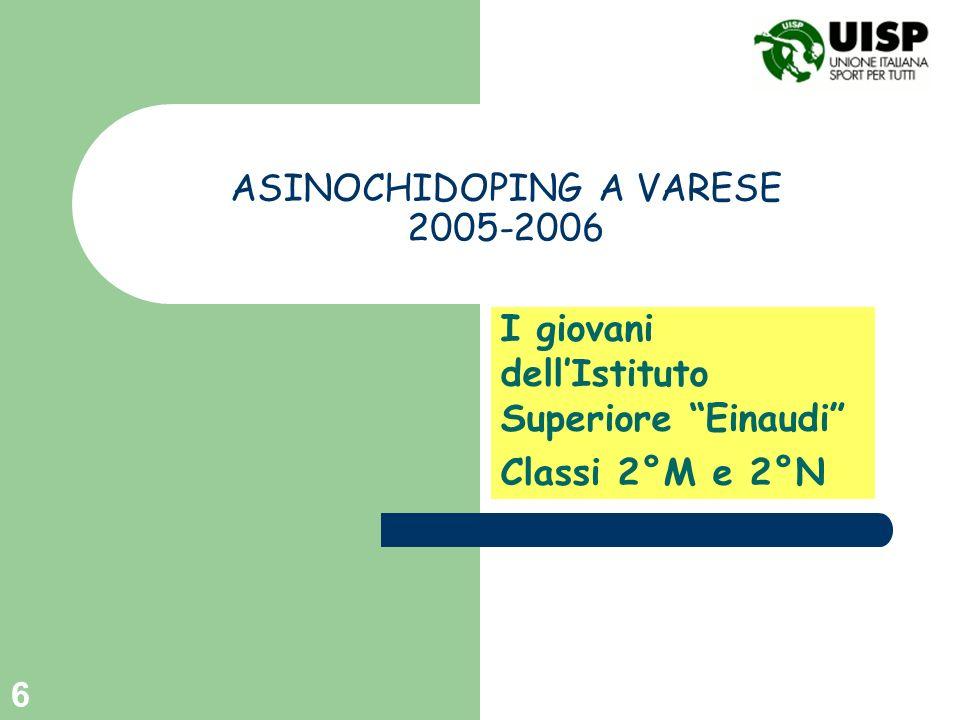 ASINOCHIDOPING A VARESE 2005-2006