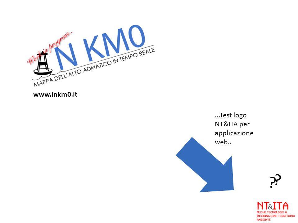 www.inkm0.it ...Test logo NT&ITA per applicazione web..
