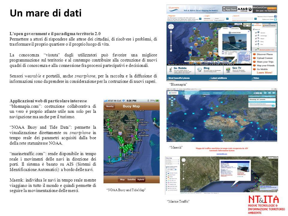 Un mare di dati L open government e il paradigma territorio 2.0