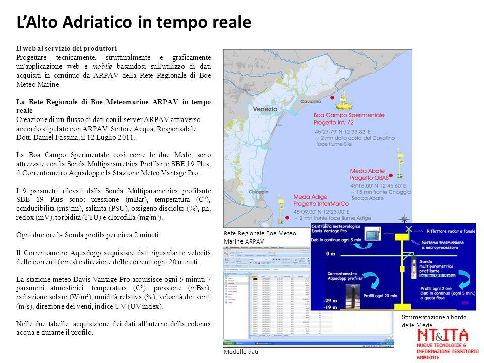 L'Alto Adriatico in tempo reale