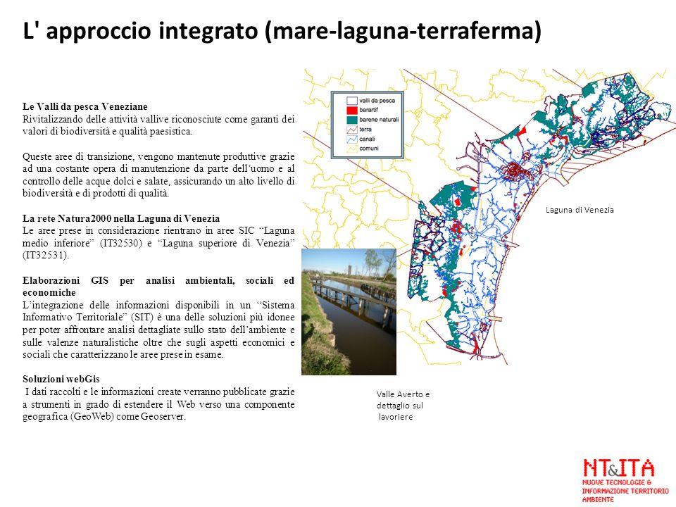 L approccio integrato (mare-laguna-terraferma)