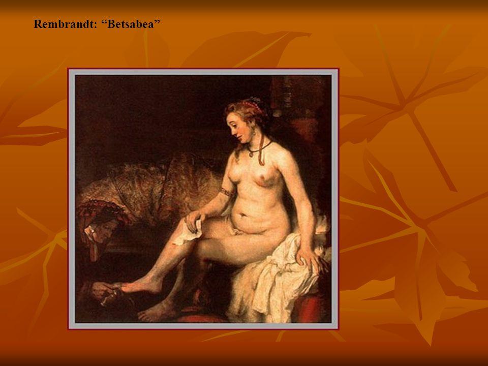 Rembrandt: Betsabea