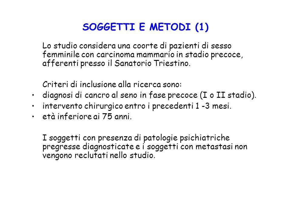 SOGGETTI E METODI (1)