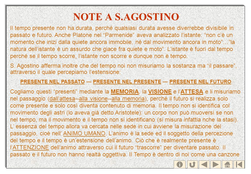 NOTE A S.AGOSTINO