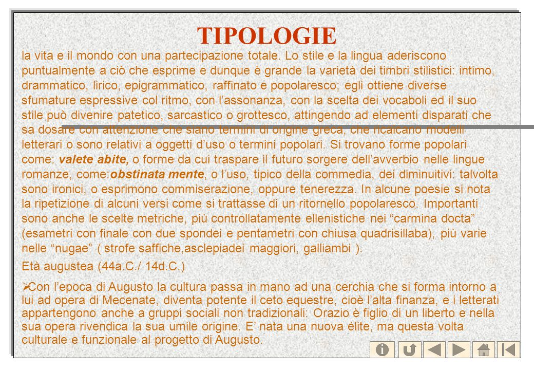 TIPOLOGIE