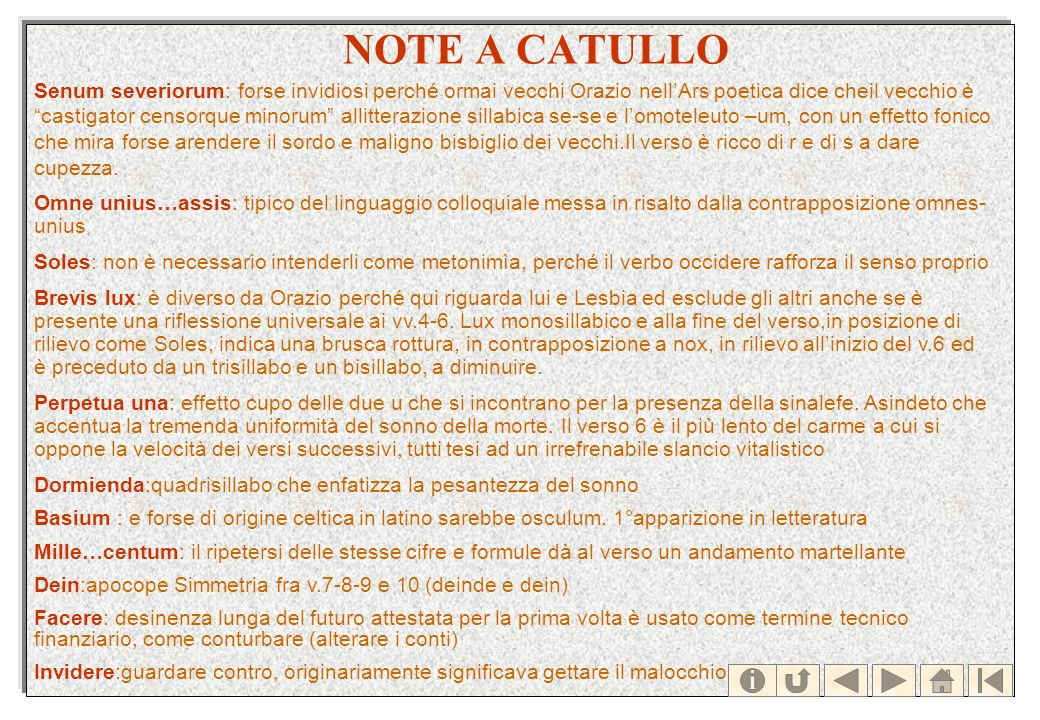 NOTE A CATULLO