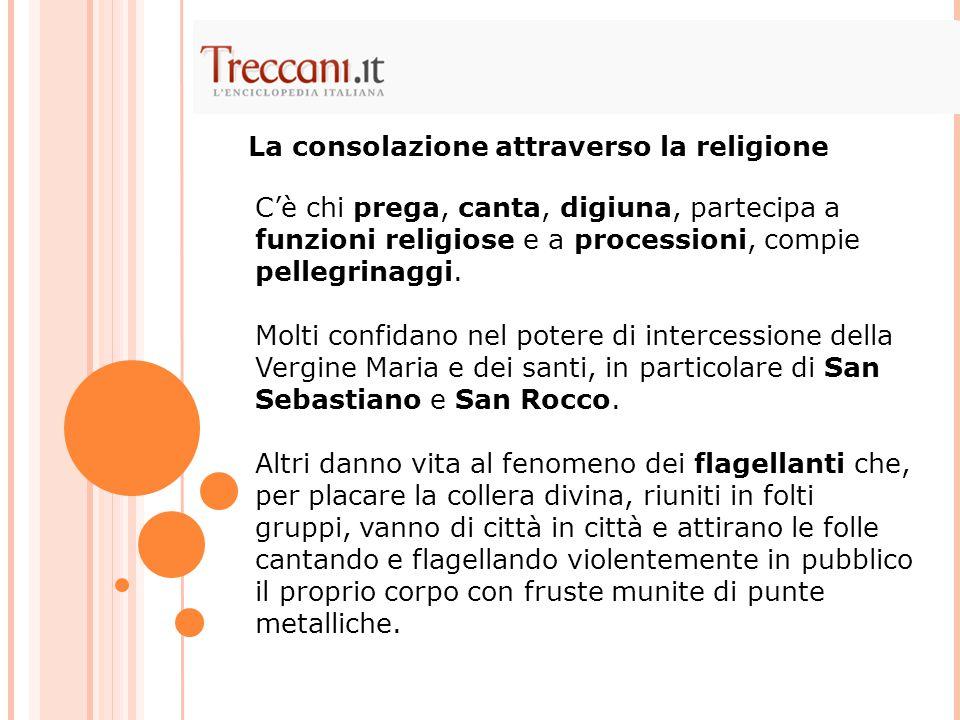 La consolazione attraverso la religione