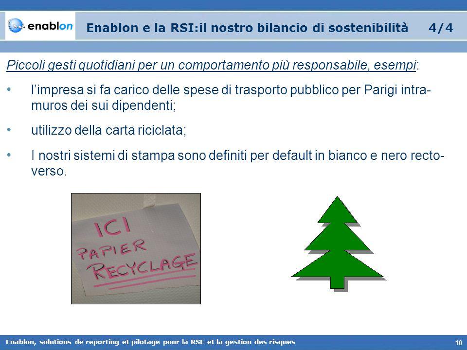Enablon e la RSI:il nostro bilancio di sostenibilità 4/4