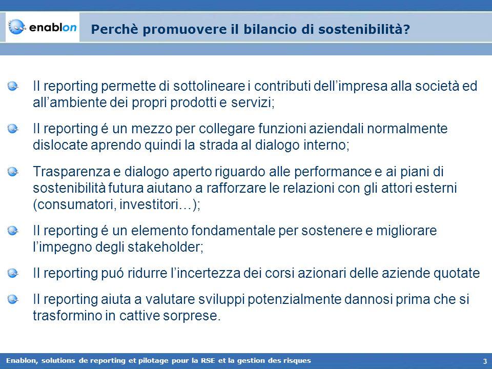 Perchè promuovere il bilancio di sostenibilità