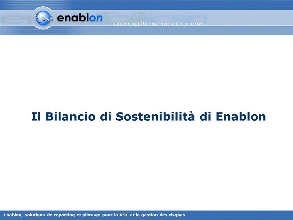 Il Bilancio di Sostenibilità di Enablon