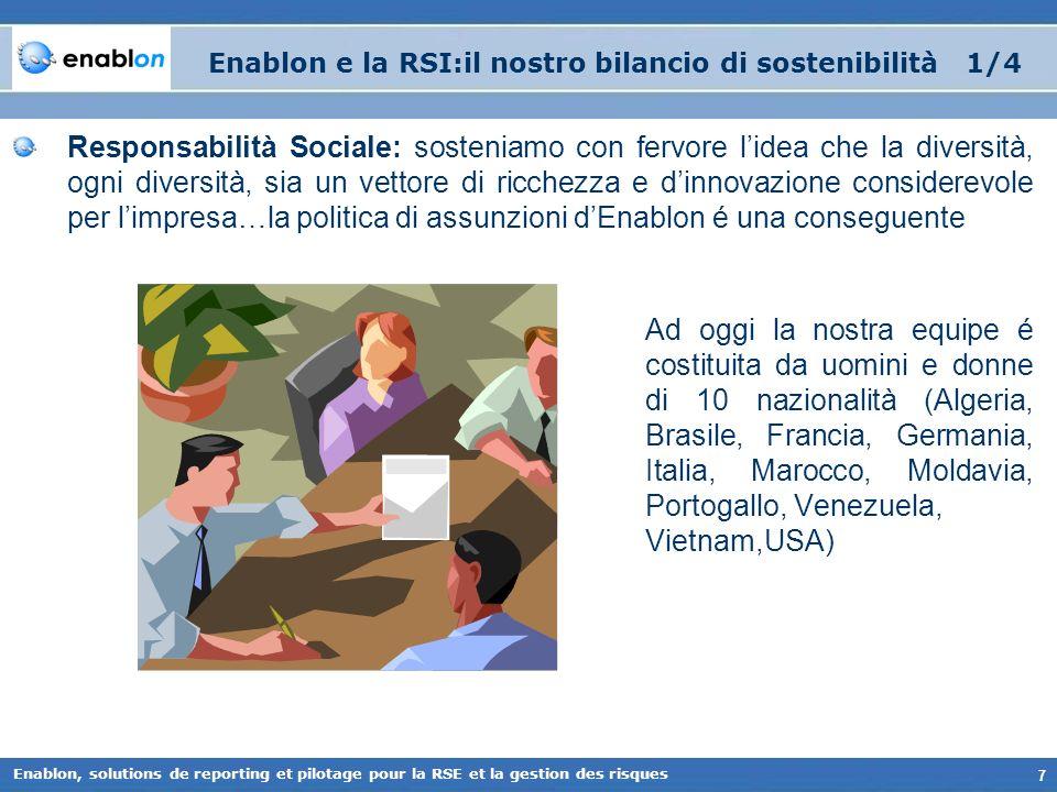 Enablon e la RSI:il nostro bilancio di sostenibilità 1/4