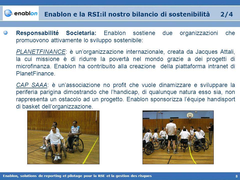 Enablon e la RSI:il nostro bilancio di sostenibilità 2/4