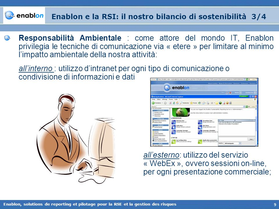 Enablon e la RSI: il nostro bilancio di sostenibilità 3/4