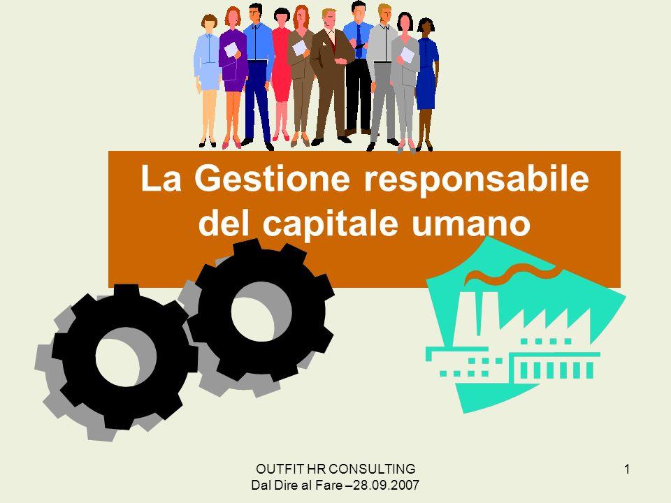 La Gestione responsabile del capitale umano