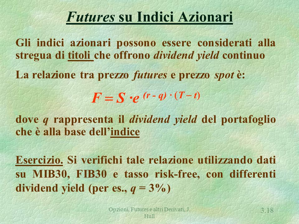 Futures su Valute (Currency Futures)