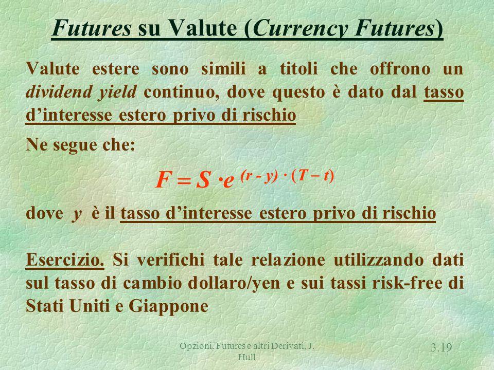 Futures su Merci (Commodity Futures)
