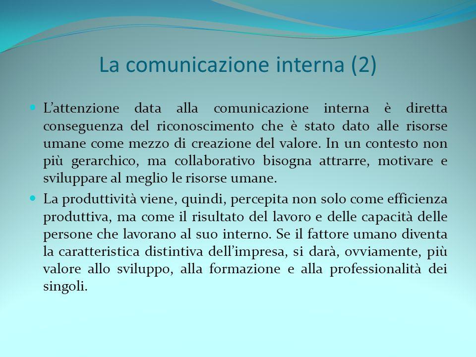 La comunicazione interna (2)