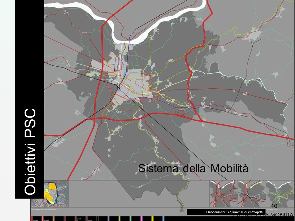 Obiettivi PSC Sistema della Mobilità
