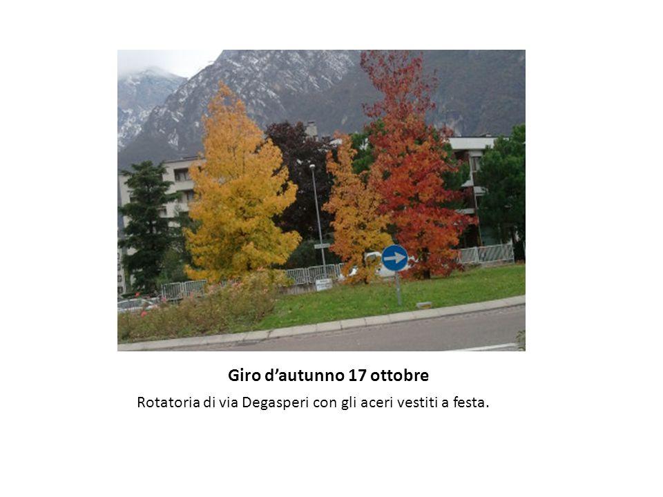 Giro d'autunno 17 ottobre