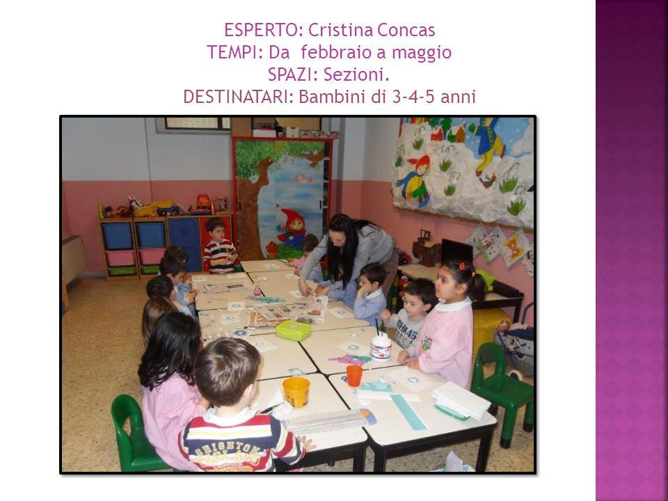 ESPERTO: Cristina Concas