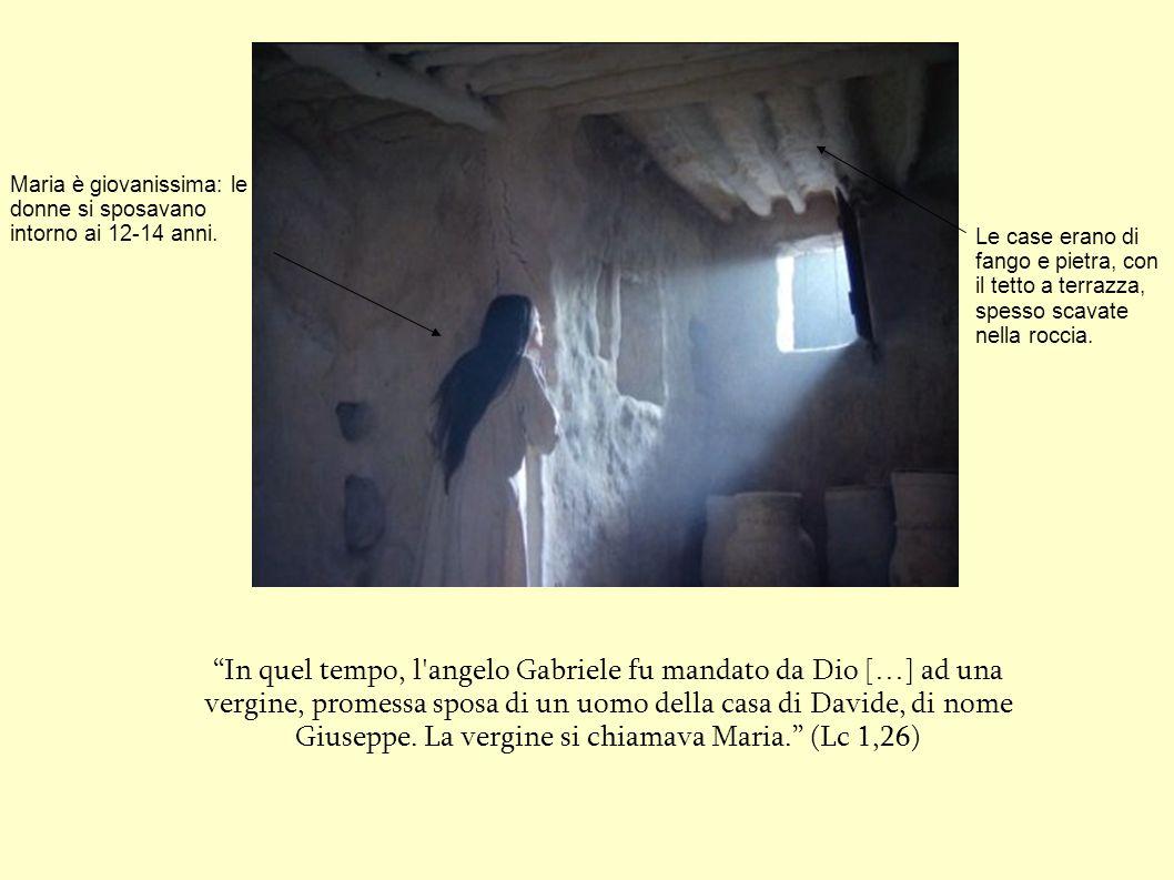 nazaret un piccolissimo villaggio della galilea al On farsi desiderare da un uomo della vergine