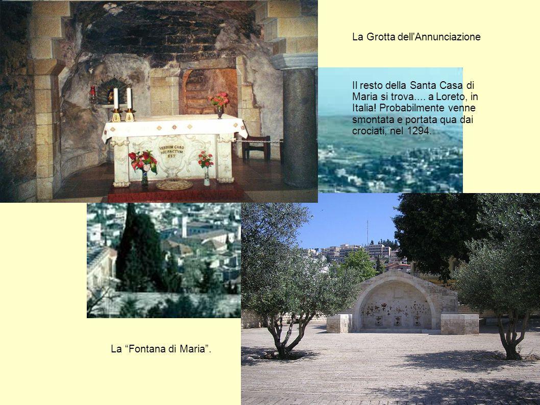 La Grotta dell Annunciazione