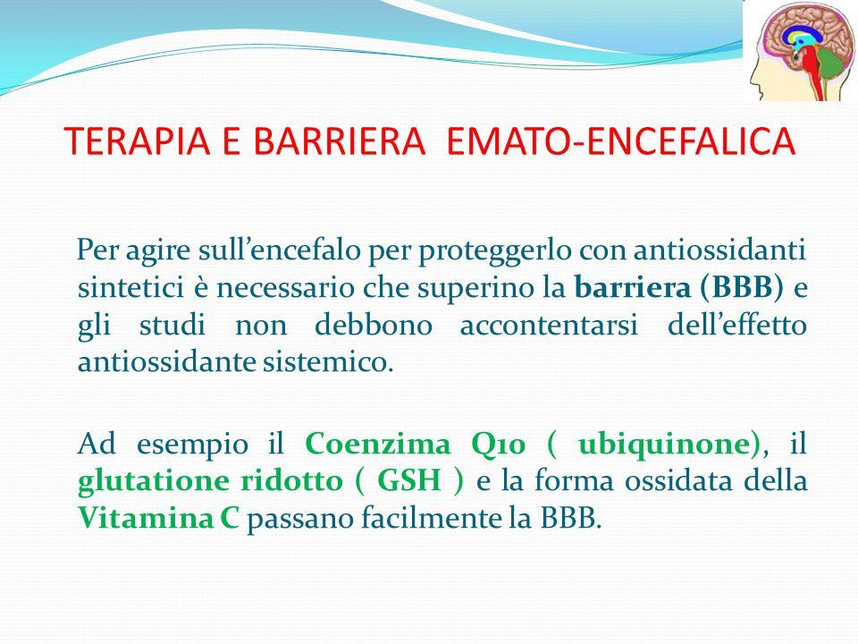 TERAPIA E BARRIERA EMATO-ENCEFALICA