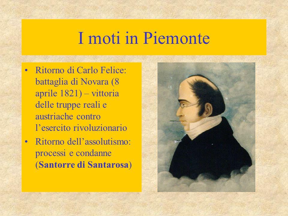 I moti in Piemonte