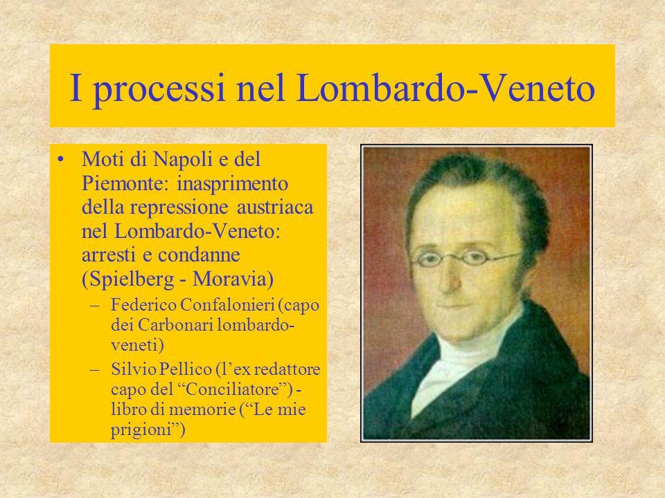 I processi nel Lombardo-Veneto