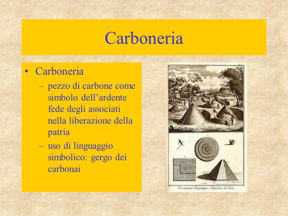 Carboneria Carboneria