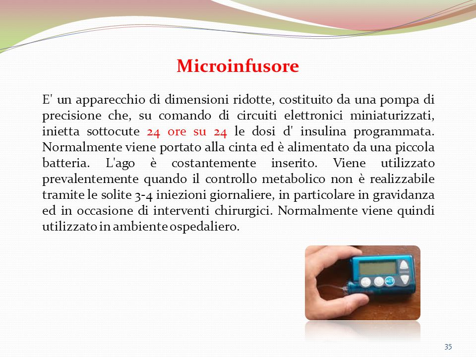 Microinfusore