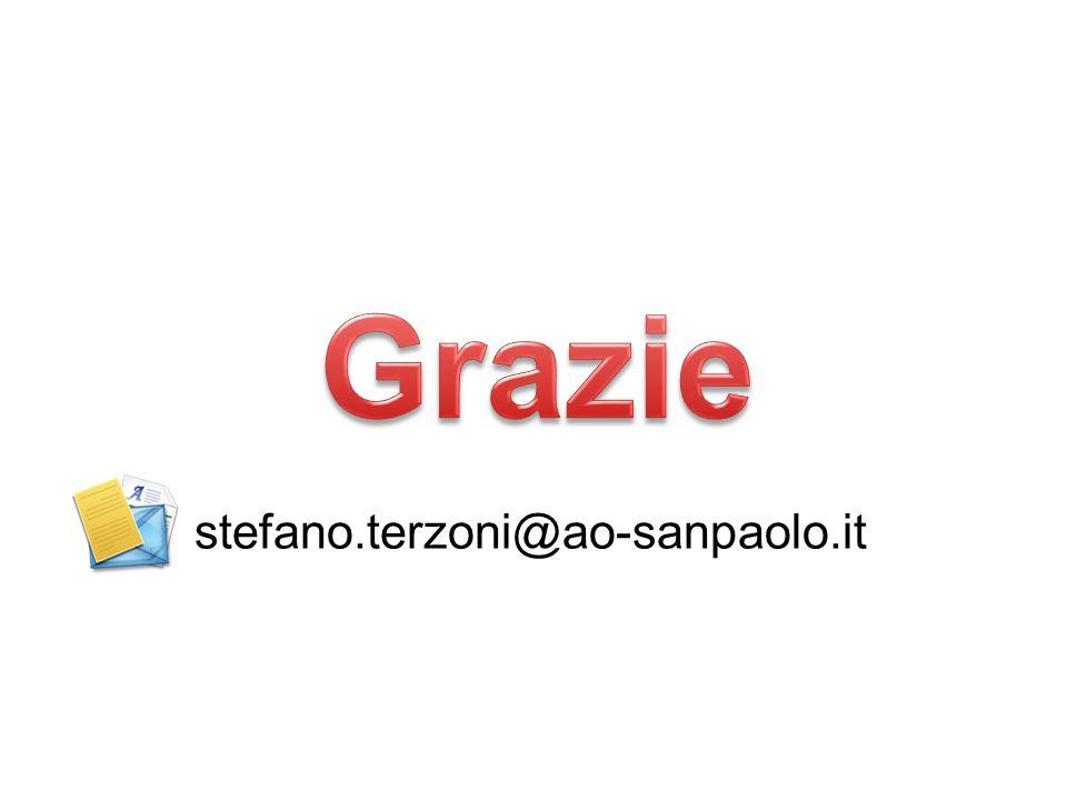 Grazie stefano.terzoni@ao-sanpaolo.it