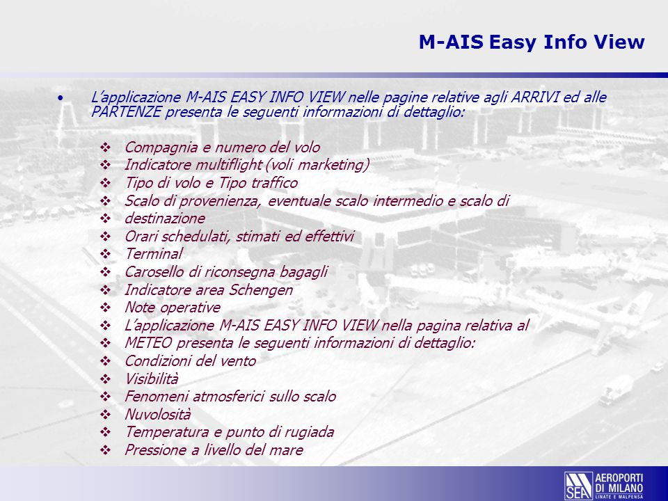 M-AIS Easy Info View