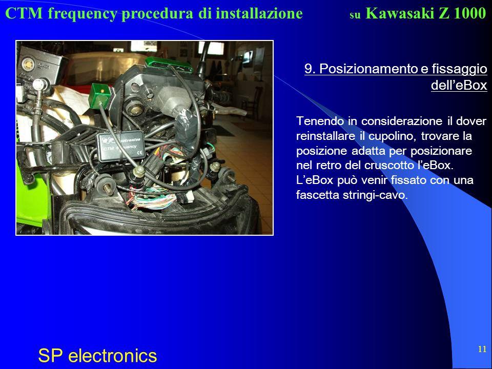 9. Posizionamento e fissaggio dell'eBox