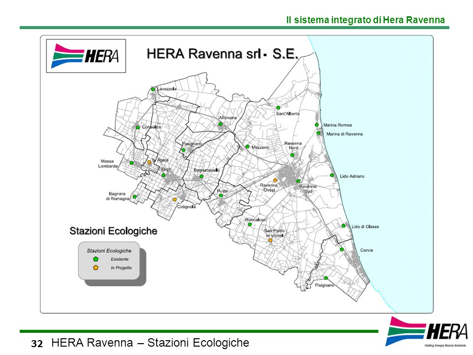 HERA Ravenna – Stazioni Ecologiche