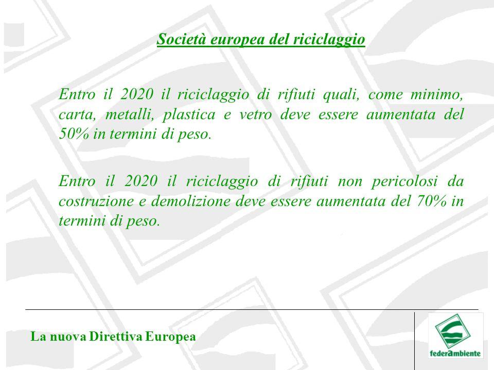 Società europea del riciclaggio