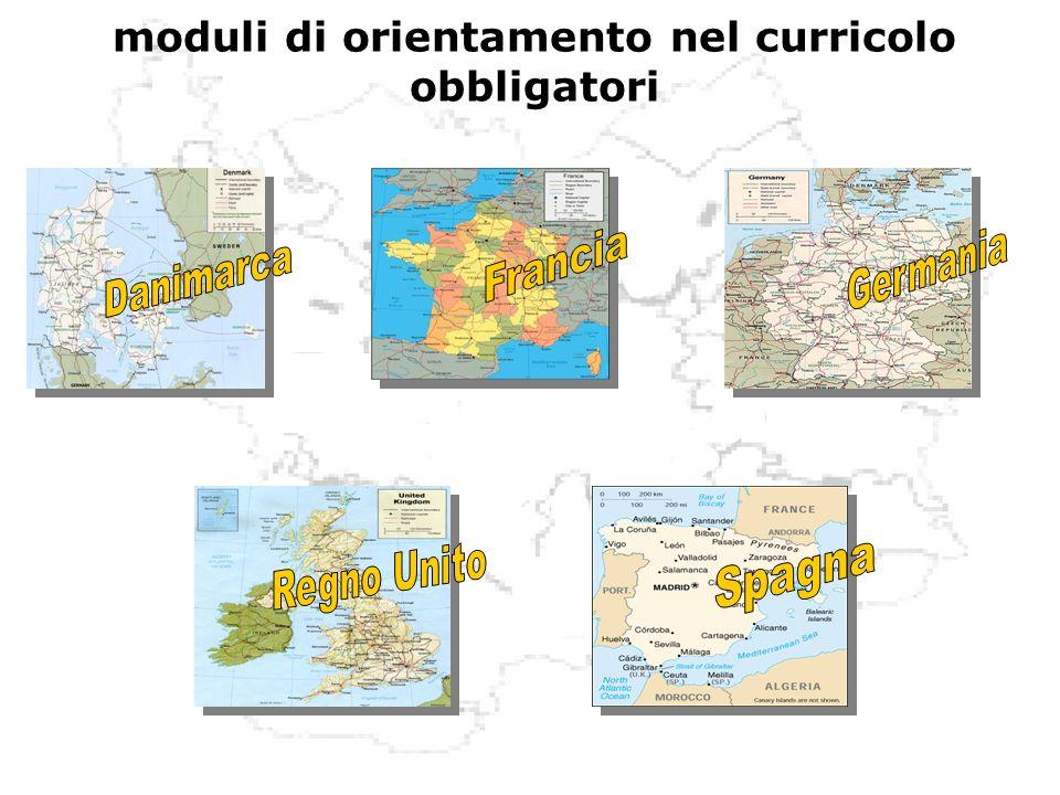 moduli di orientamento nel curricolo obbligatori