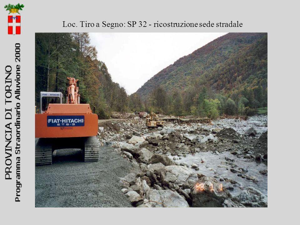 Loc. Tiro a Segno: SP 32 - ricostruzione sede stradale