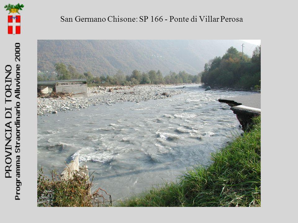 San Germano Chisone: SP 166 - Ponte di Villar Perosa